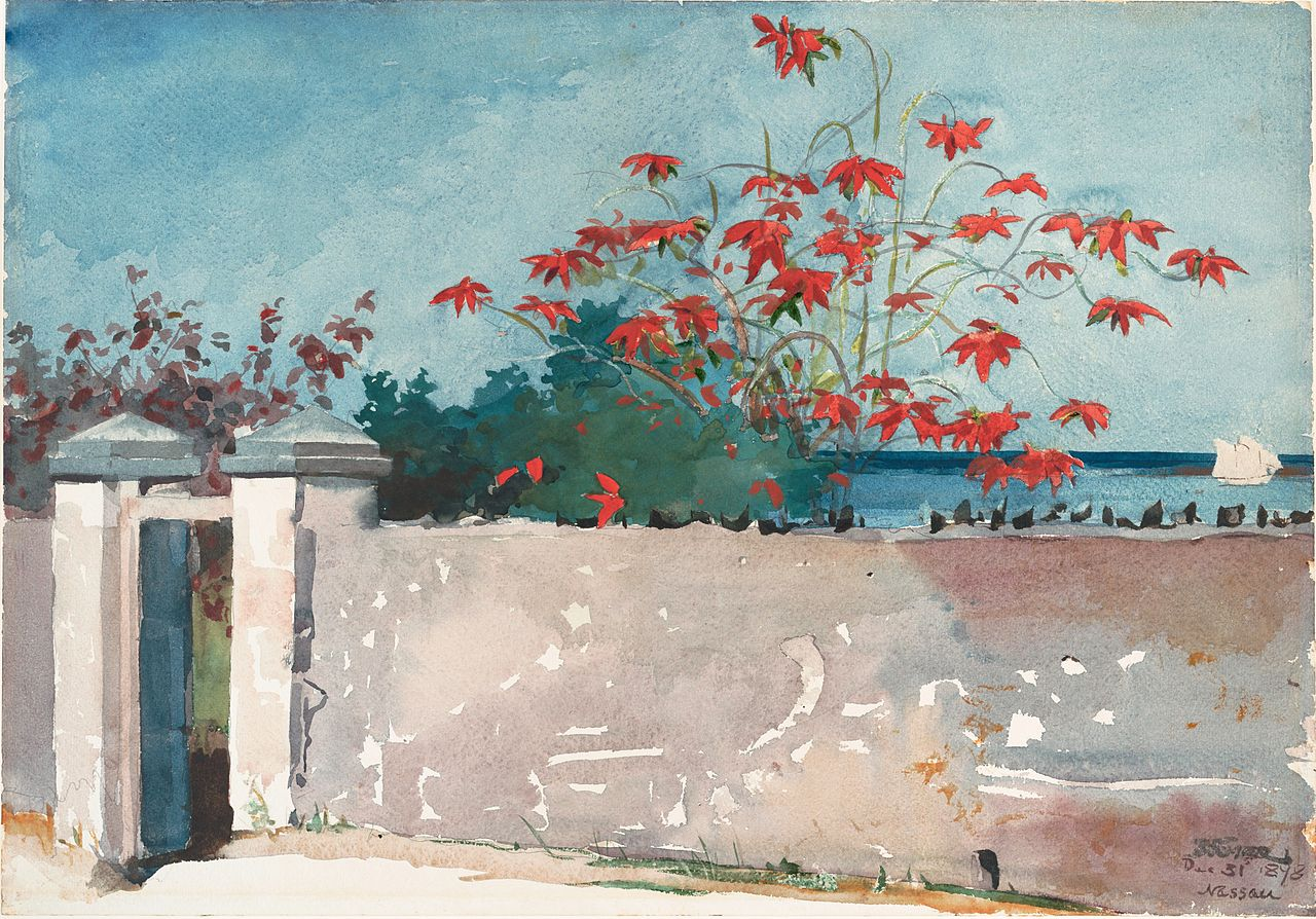 File winslow homer a wall wikimedia commons A wall painting