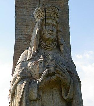 Kinga of Poland - Image: Wislica sw Kinga 20070825 1044