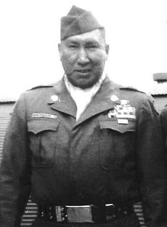 Woodrow W. Keeble - Woodrow Keeble during the Korean War
