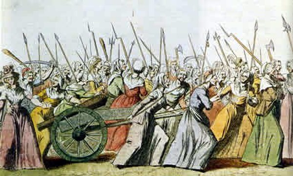 The Women's March on Versailles (October 5-6, 1789) Women's March on Versailles01.jpg