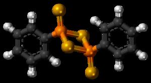 Woollins' reagent - Image: Woollins' reagent 3D balls