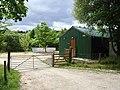 Works yard, Birch Hall, Langdale Forest - geograph.org.uk - 220093.jpg