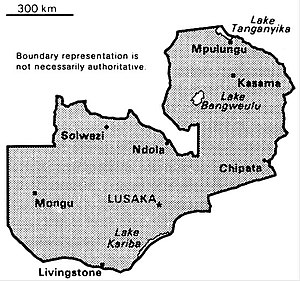 World Factbook (1990) Zambia.jpg
