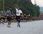 Wounded Warrior returns to the Division to complete All American Week Run 150518-A-BO980-099.jpg