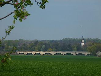 Neukieritzsch–Chemnitz railway - Wyhra Valley Viaduct