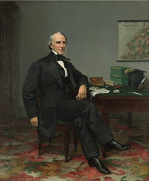Wyndham Robertson - Portrait of Wyndham Robertson ca. 1880 by L.M.D. Guillaume