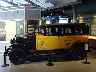 W & G Du Cros - US assembled Yellow Cab