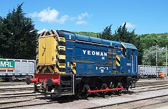 British Rail Class 08 - Former 08032 at Foster Yeoman's Torr Works, 2008