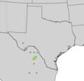 Yucca rostrata range map.png