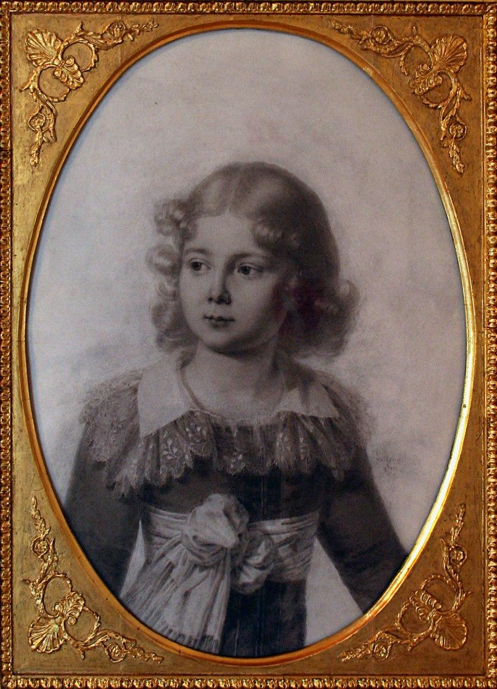 Złoty Potok dwór Krasińskich portret Zygmunta Krasińskiego 14.05.2011 p