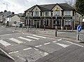 Zebra crossings to the Dukes Arms, Morriston, Swansea (geograph 5973524).jpg