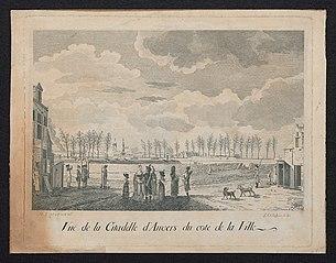 Zicht op de Citadel van Antwerpen