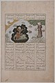 """Rustam Shoots His Half-brother Shaghad through a Plane Tree"", Folio from a Shahnama (Book of Kings) of Firdausi MET sf40-38-2r.jpg"