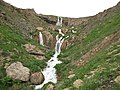 """Sefidab"" waterfall view from middle, Lar آبشارسفیداب از اواسط آن،لار - panoramio.jpg"