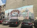 """""""The Magic Theatre"""" mural, W. Mulberry Street and Montaque Street (southeast corner), Baltimore, MD 21201 (42374939161).jpg"""