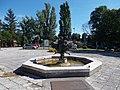 'Dance flower' fountain, car park, 2020 Sárospatak.jpg