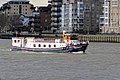 'The Edwardian' charter boat at Greenwich, London 01.jpg