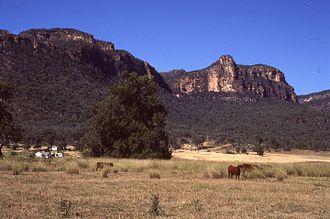 Glen Davis, New South Wales - Countryside around Glen Davis