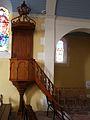 Église-Neuve-de-Vergt église chaire.JPG