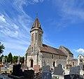 Église Saint-Aubin de Saint-Aubin-d'Arquenay. Vue sud-ouest.jpg
