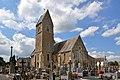 Église Saint-Clair de Saint-Clair-sur-l'Elle. Vue sud-est.jpg