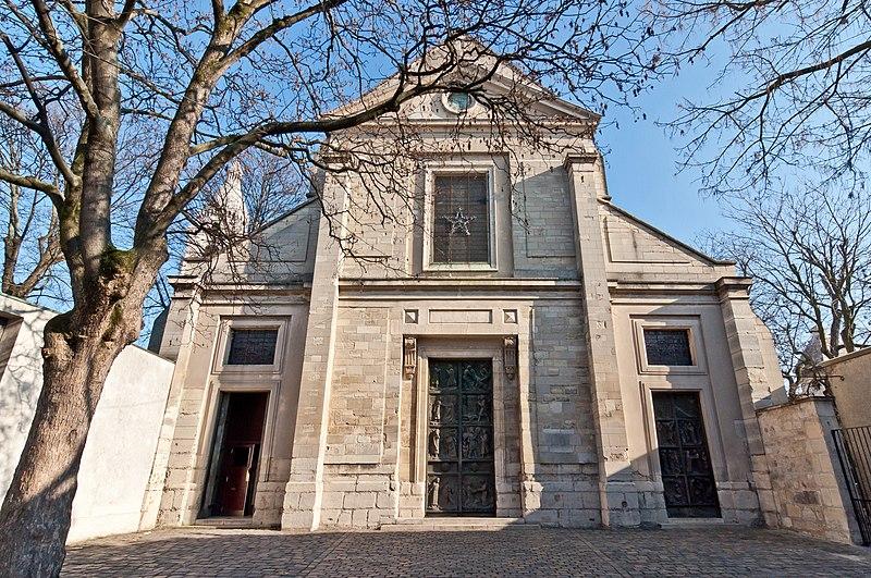 Fichier:Église Saint-Pierre de Montmartre - portail.jpg