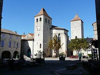 Tarn-et-Garonne - Image: Église de Lauzerte
