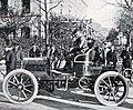 Étienne Giraud, vainqueur du Critérium de l'Alcool Paris-Rouen 1900, sur Panhard 22 hp.jpg