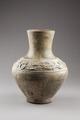 Östasiatisk keramik. Urna, gravfynd - Hallwylska museet - 96094.tif