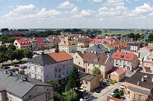Łęczyca - Image: Łęczyca view