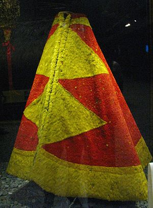 House of Kamehameha - The feathered cloak of King Kalaniʻōpuʻu