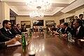 Επίσκεψη, Υπουργού Εξωτερικών, Ν. Κοτζιά στην πΓΔΜ – Συνάντηση ΥΠΕΞ, Ν. Κοτζιά, με Πρόεδρο κόμματος VMRO, H. Mickoski (23.03.2018) (40079011205).jpg