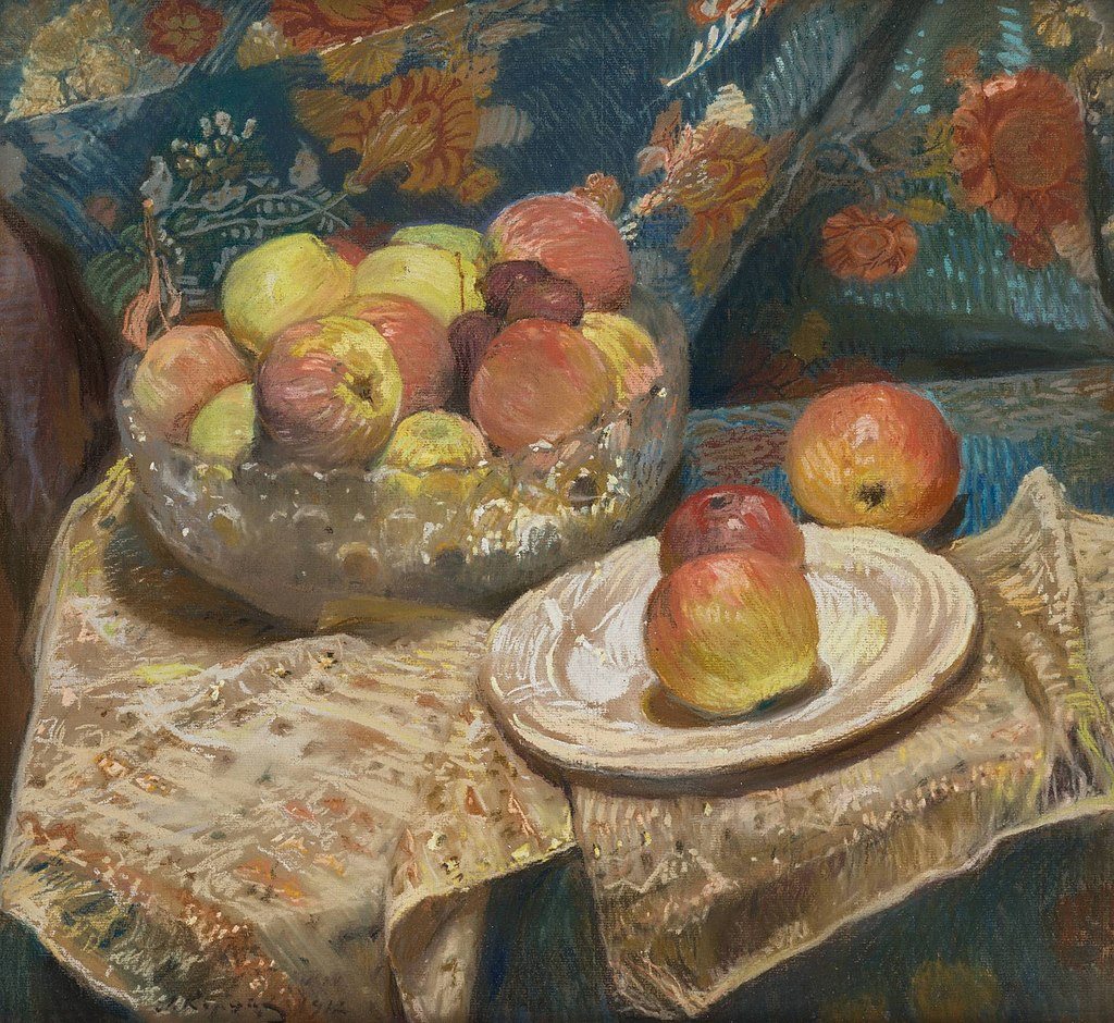 Алексе́й М. Ко́рин - Натюрморт с яблоками (1912).jpg