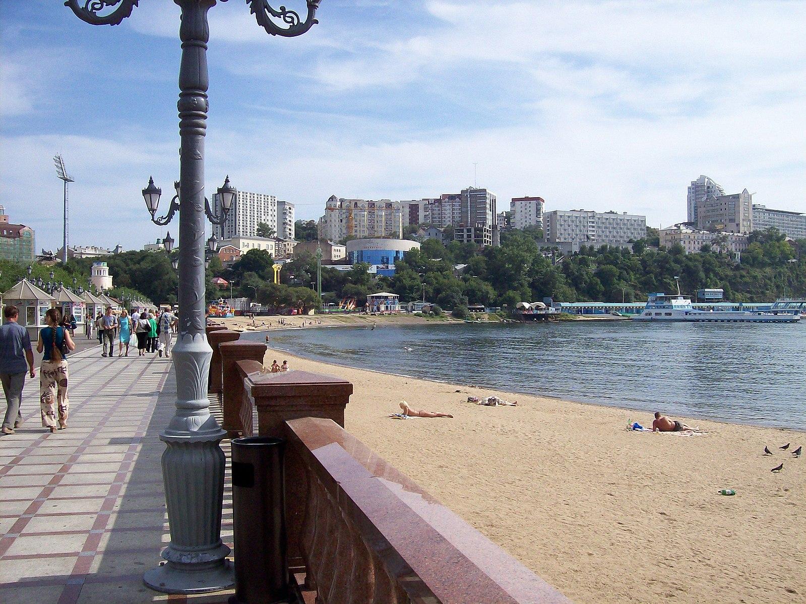 фото города владивостока набережная очень ценным станет