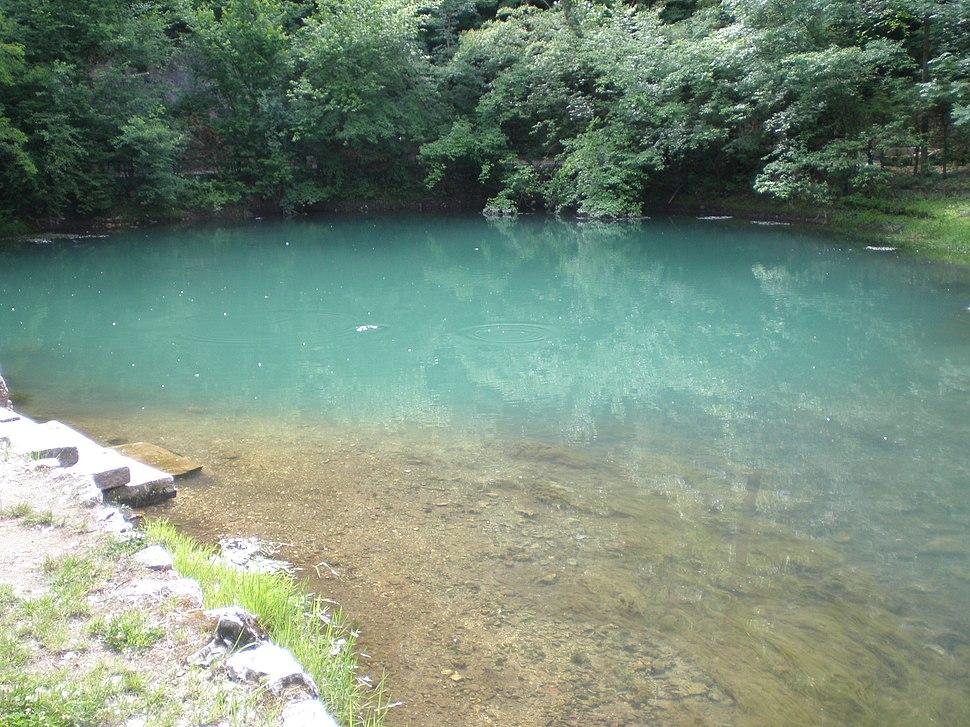Извор реке Млаве у Жагубици
