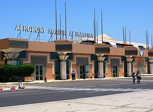 Agadir–Al Massira Airport - Image: Г.Агадир, Марокко. panoramio (1)