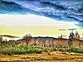 Захід сонця в селі Сливки.jpg