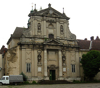 Santa Susanna - A 17th-century replica of Santa Susanna in Lviv, Ukraine.