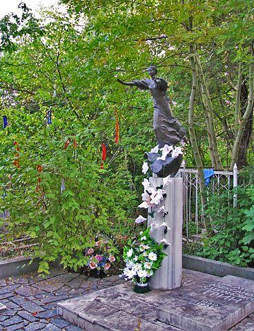 Могила А.С.Грина на городском кладбище Старого Крыма
