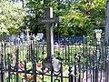 Могила Срезневского И.И., крест, ограда.jpg