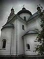 Мікольская царква ў Магілёве, выгляд з боку апсіды.jpg