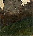 Николай К. Рерих - Кремлевская башня. Нижний Новгород (1903).jpg