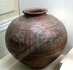 Сосуд из селения Шахтахты. Середина II тысячелетия до. н. э.