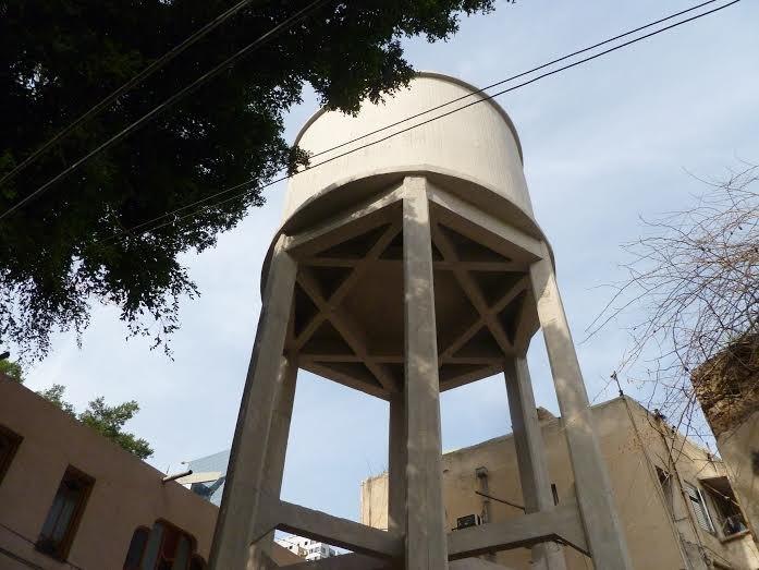 תל אביב שכונת מונטיפיורי מגדל המים 1
