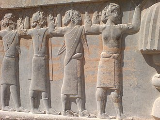 Satrap - Some of the Achaemenid empire satraps in their traditional costumes