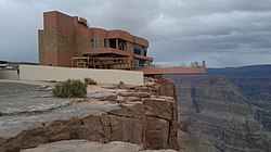 The Grand Canyon Skywalk, a popular attraction in Grand Canyon West