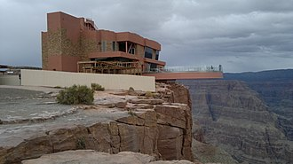 Grand Canyon West, Arizona - The Grand Canyon Skywalk, a popular attraction in Grand Canyon West
