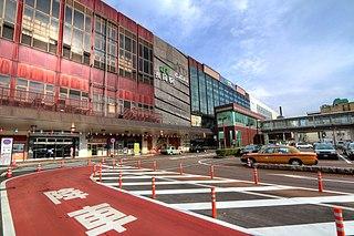 Nagaoka Station Railway station in Nagaoka, Niigata Prefecture, Japan