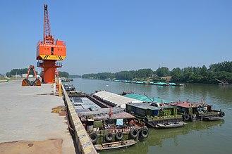 Yingzhou District - The Yingzhou Port in Yingzhou District