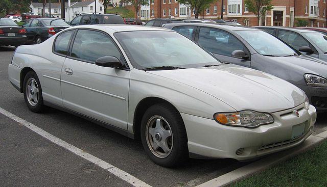00-05 Chevrolet Monte Carlo
